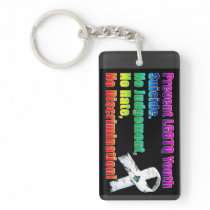 Prevent LGBTQ Youth Suicide Keychain