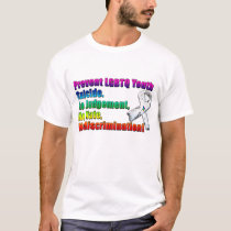 Prevent LGBTQ Youth Suicide T-Shirt