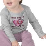 Prevent Swine Flu: Don't Kiss a Pig T-shirt
