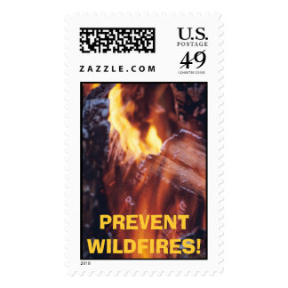 PREVENT WILDFIRES! Stamp