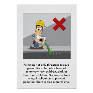 Preventing Pollution 001 Poster