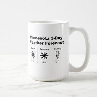 Previsión metereológica de Minnesota Taza De Café