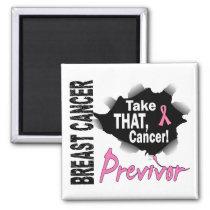 Previvor 7 Breast Cancer Magnet