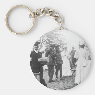 Prewar Field Days British Military Nurses Keychain