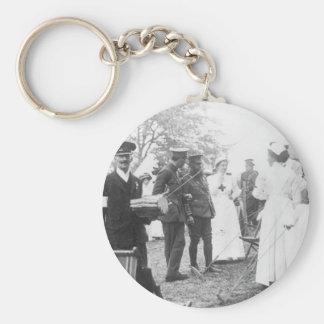 Prewar Field Days British Military Nurses Keychain