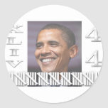 Prez by the numbers copy sticker