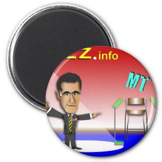 Prez.info 2 Inch Round Magnet