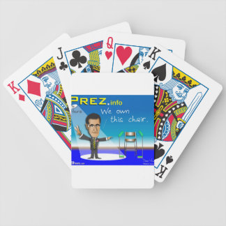 PREZ.info Bicycle Playing Cards