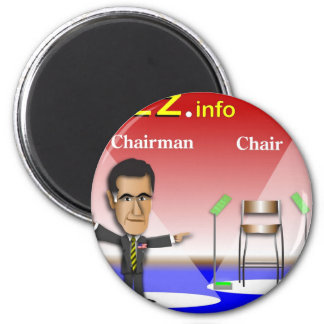 PREZ.info - Chairman vs Chair 2 Inch Round Magnet