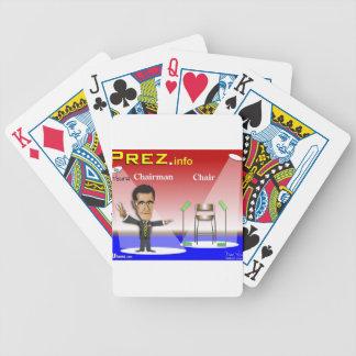 PREZ.info - Chairman vs Chair Bicycle Playing Cards