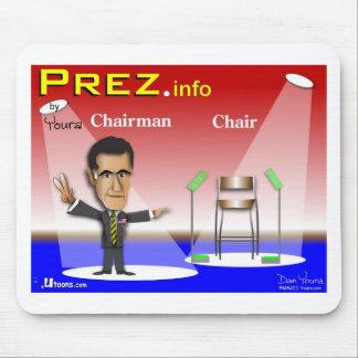 PREZ.info - Chairman vs Chair Mouse Pad