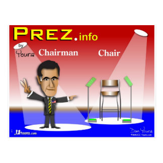 PREZ info - Chairman vs Chair Postcard