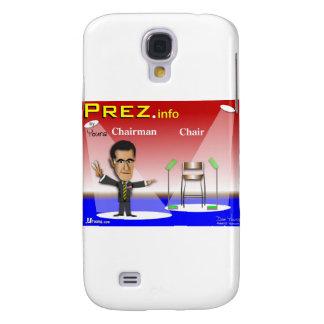PREZ.info - Chairman vs Chair Samsung Galaxy S4 Cover