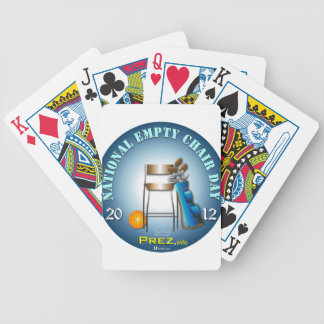 PREZ.info - Empty Chair 2 Bicycle Playing Cards