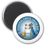 PREZ.info - Empty Chair 2 Fridge Magnet