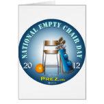 PREZ.info - Empty Chair 2 Greeting Card