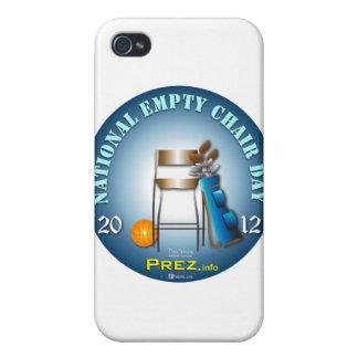PREZ info - Empty Chair 2 iPhone 4 Case