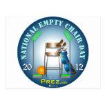 PREZ.info - Empty Chair Postcards