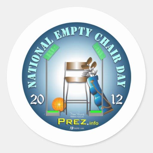 PREZ.info - Empty Chair Sticker