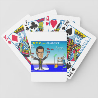 PREZ.info - FORE Bicycle Playing Cards