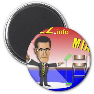 PREZ.info - MIA 2 Inch Round Magnet