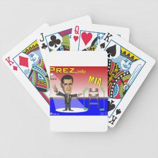 PREZ.info - MIA Bicycle Playing Cards