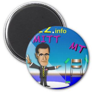 PREZ.info - MITT & MT 2 Inch Round Magnet
