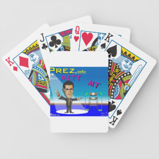 PREZ.info - MITT & MT Bicycle Playing Cards