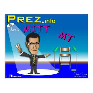 PREZ.info - MITT & MT Postcard