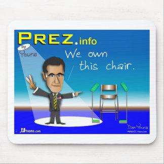 PREZ.info Mouse Pad