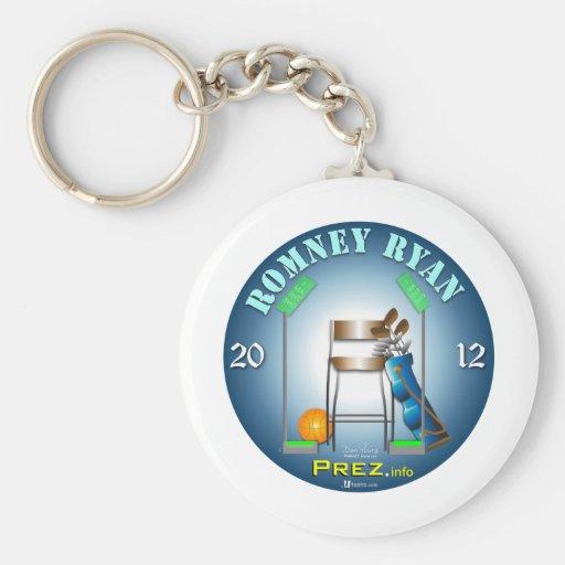 PREZ.info - MT Chair Basic Round Button Keychain