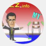 Prez.info Pegatina Redonda