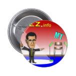 Prez.info Pinback Button