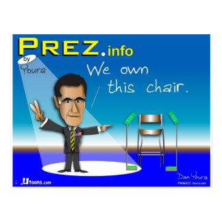 PREZ info Postcards