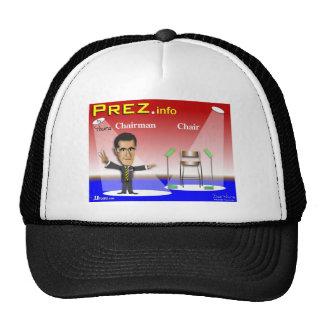 PREZ.info - presidente contra silla Gorro