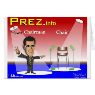 PREZ info - presidente contra silla Tarjetón