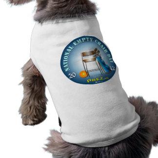 PREZ.info - silla vacía 2 Camisetas Mascota