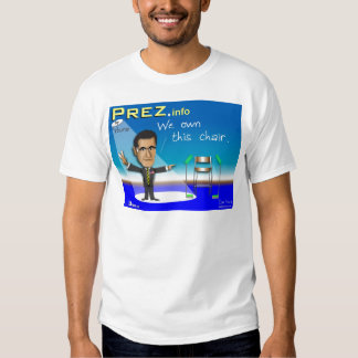 PREZ.info T-shirt
