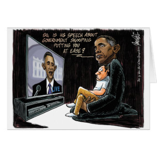 Prez Obama Puts US at Ease about NSA Spying Card