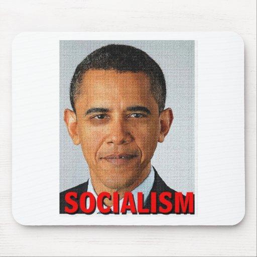 Prez Obama socialism Mousepads