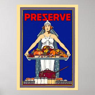 Prezerve Poster