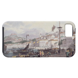 Pria Grande, Macao, c.1850 (colour litho) iPhone SE/5/5s Case