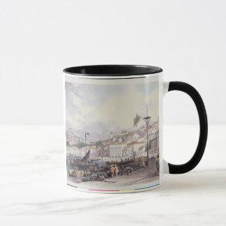 Pria Grande, Macao, c.1850 (colour litho) Mug