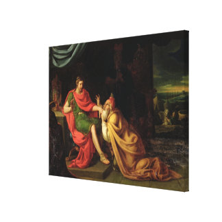 Priam and Achilles Canvas Print