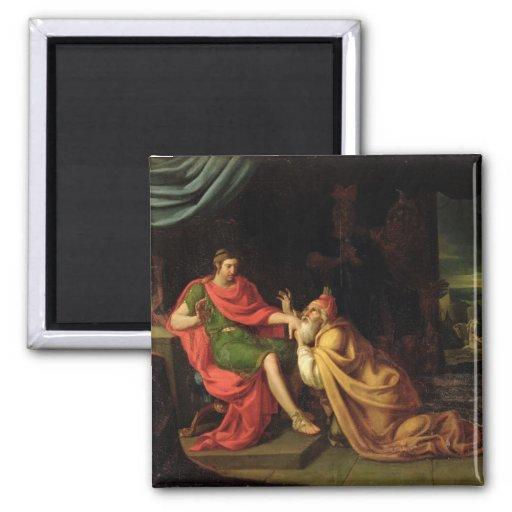 Priam and Achilles Fridge Magnets