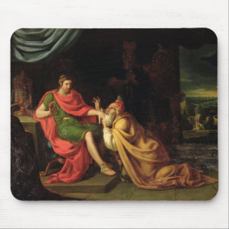 Priam and Achilles Mouse Pad