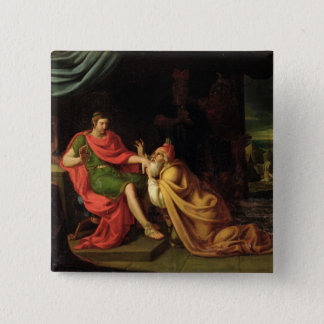 Priam and Achilles Pinback Button