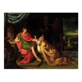 Priam and Achilles Postcard