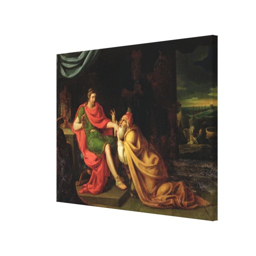 Priam and Achilles Stretched Canvas Prints