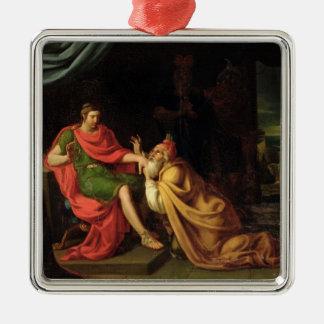 Priam y Aquiles Ornamento De Navidad